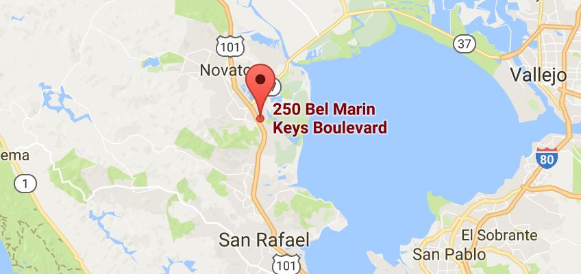 Marin Office:   250 Bell Marin Keys Blvd