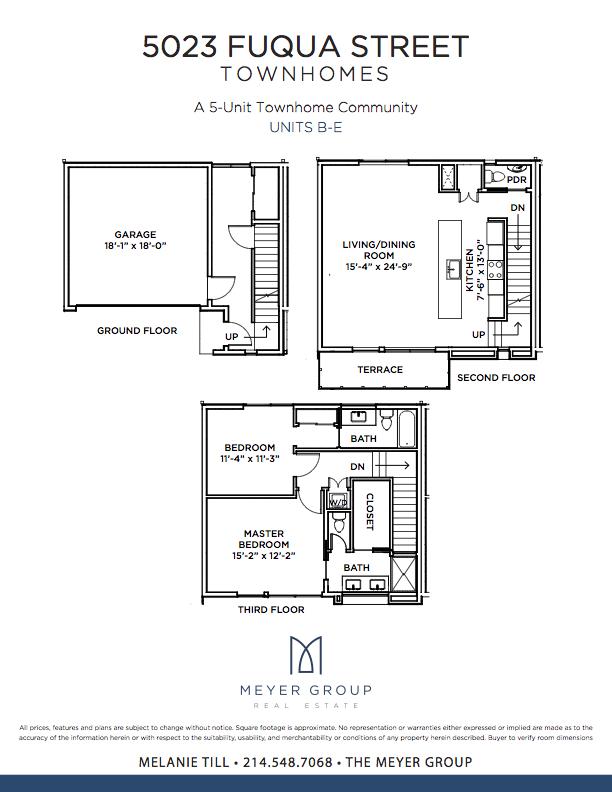 5023+Fuqua+Ground+Floor-UNITS+B-E+copy  Fuqua Homes Floor Plans on