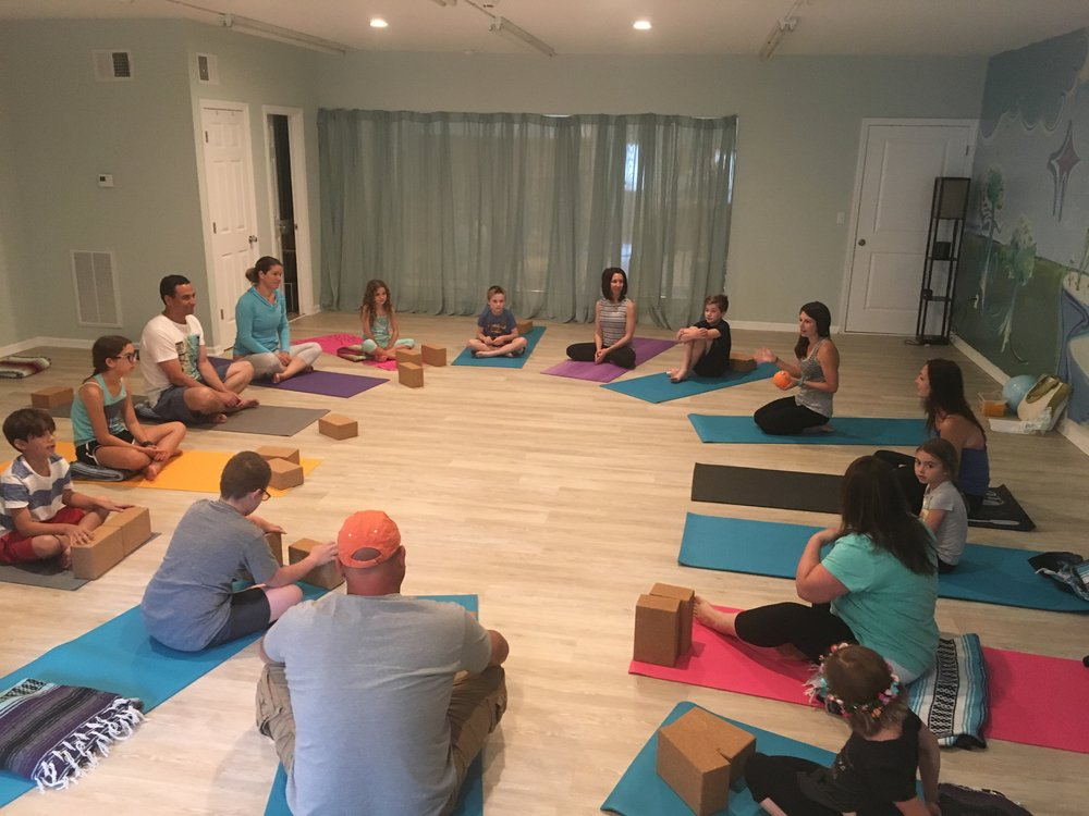 Family Yoga at Zephyr Yoga, New Egypt
