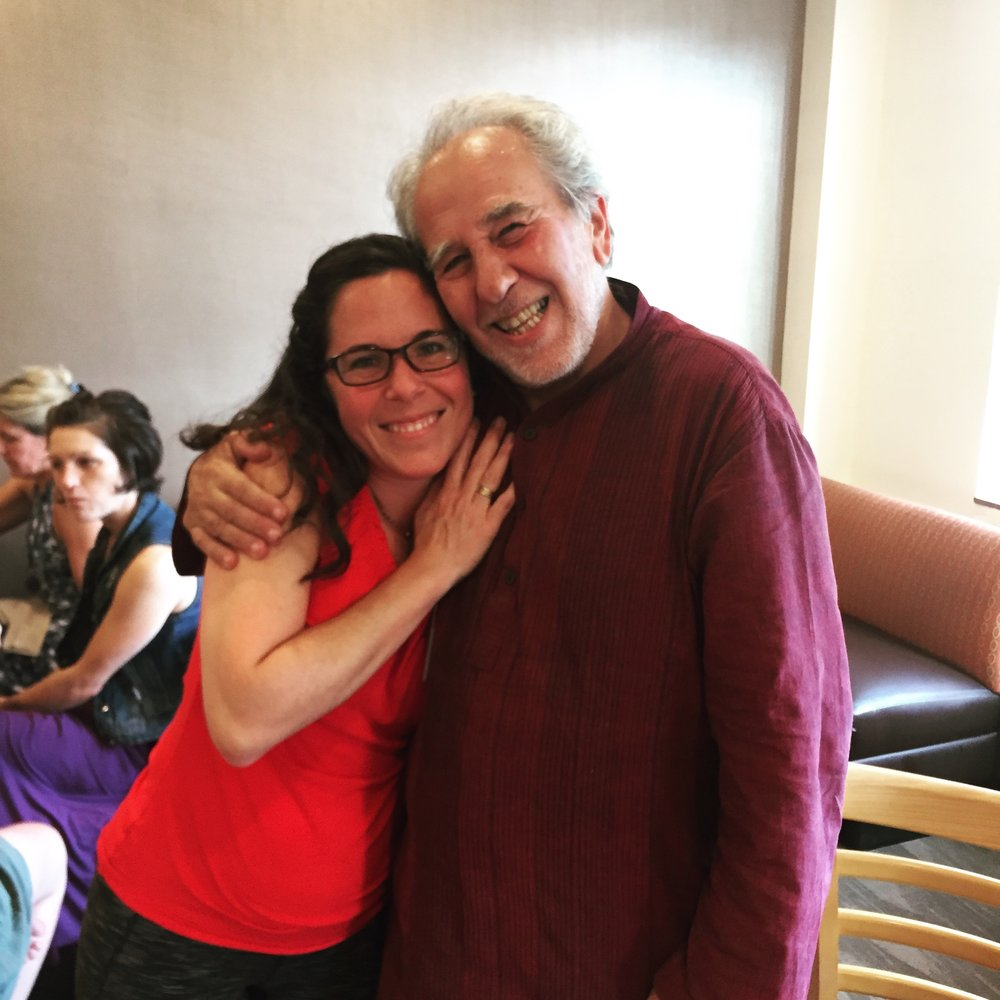 I had a dream that I met him, and then it became true. Me and Bruce Lipton, August 18, 2018.