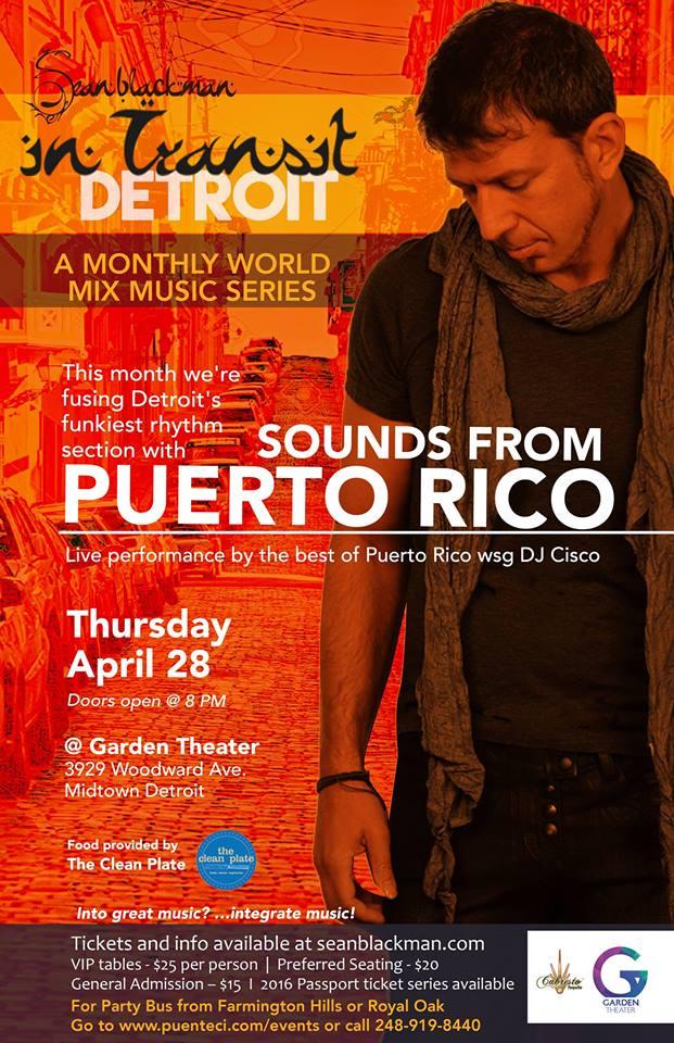 APRIL ~PUERTO RICO  Puerto Rico detroit FUSION