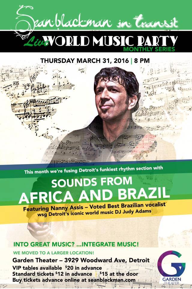 MARCH ~ AFRICA & BRAZIL       SOUNDS OF AFRICA AND BRAZIL