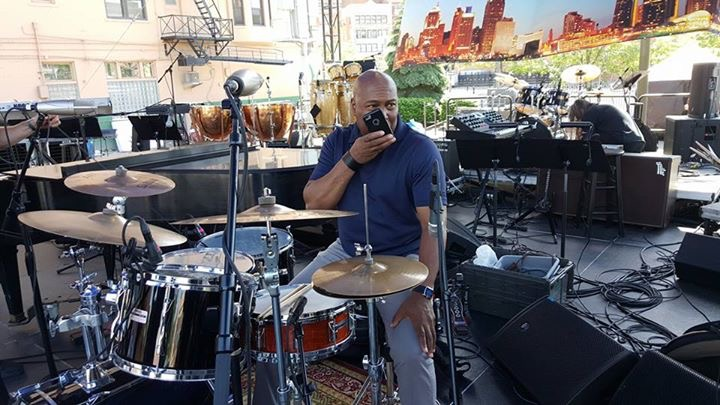 Rick Beamon on drums