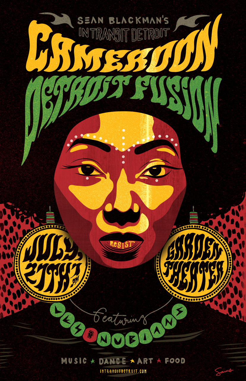 JULY ~ CENTRAL AFRICA   CAMEROON DETROIT FUSION