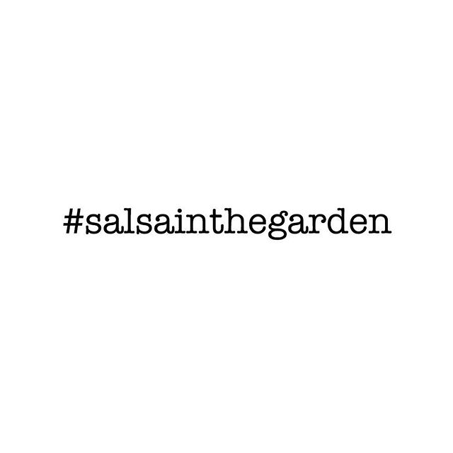 It's a dance party! You just can't miss it! This Friday at the Garden Theater Detroit #salsainthegarden #detroitpartyscene #detroit