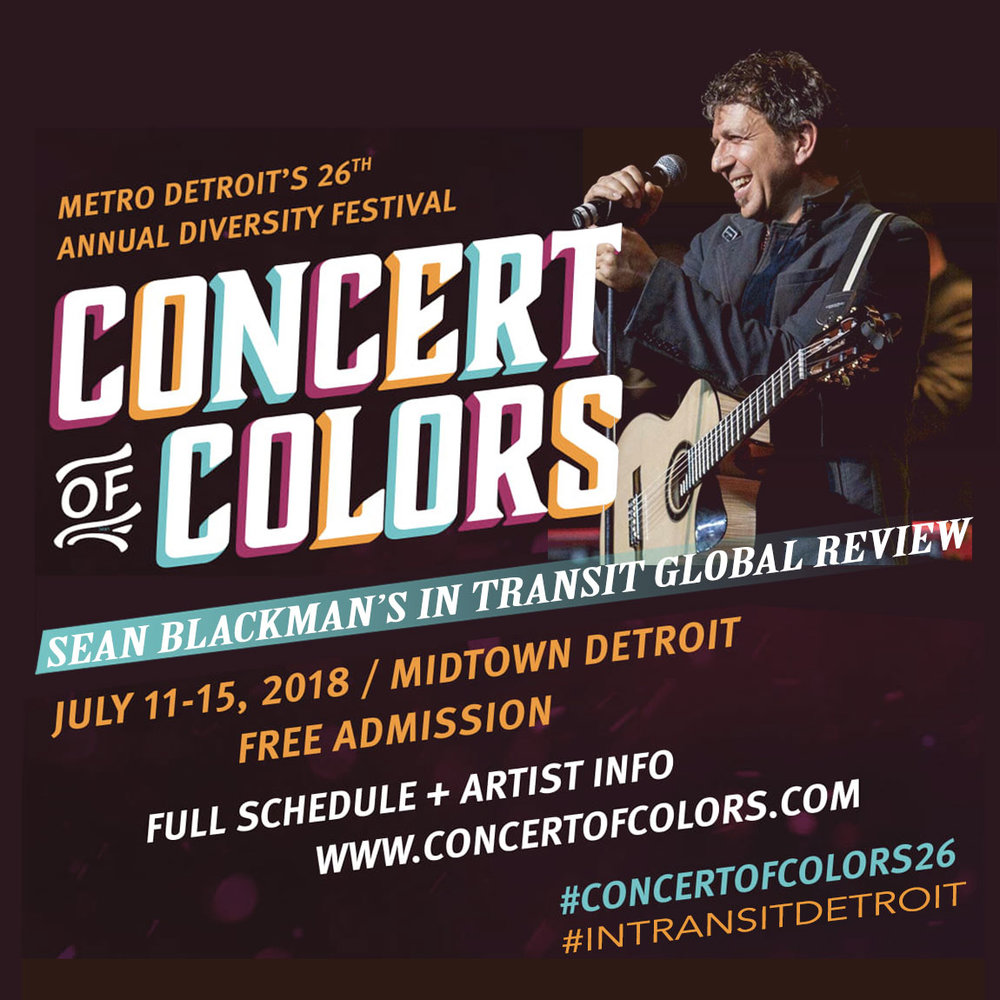 Sean Blackman Concert Of Colors 2018