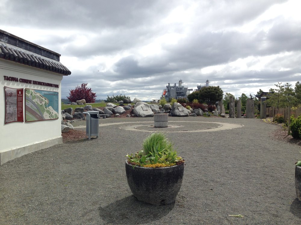 Overview of Chinese Reconciliation Park in Tacoma, Washington. Cesare Bigolin.