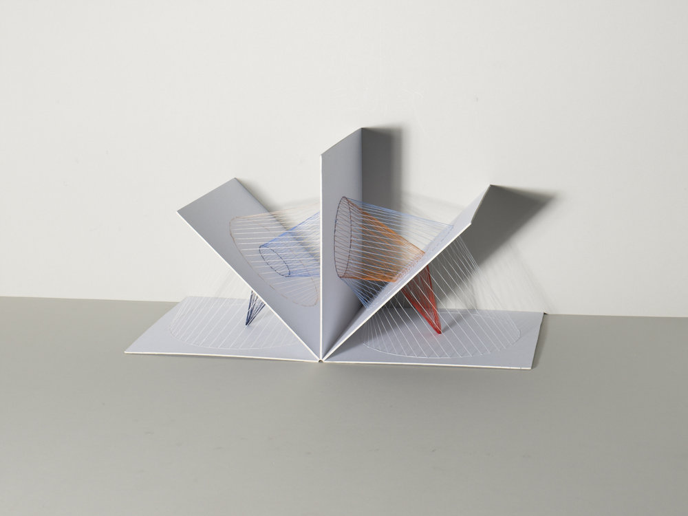 Pop-up string book evolved from the previous diagram models. Image:  Michael Bodiam.