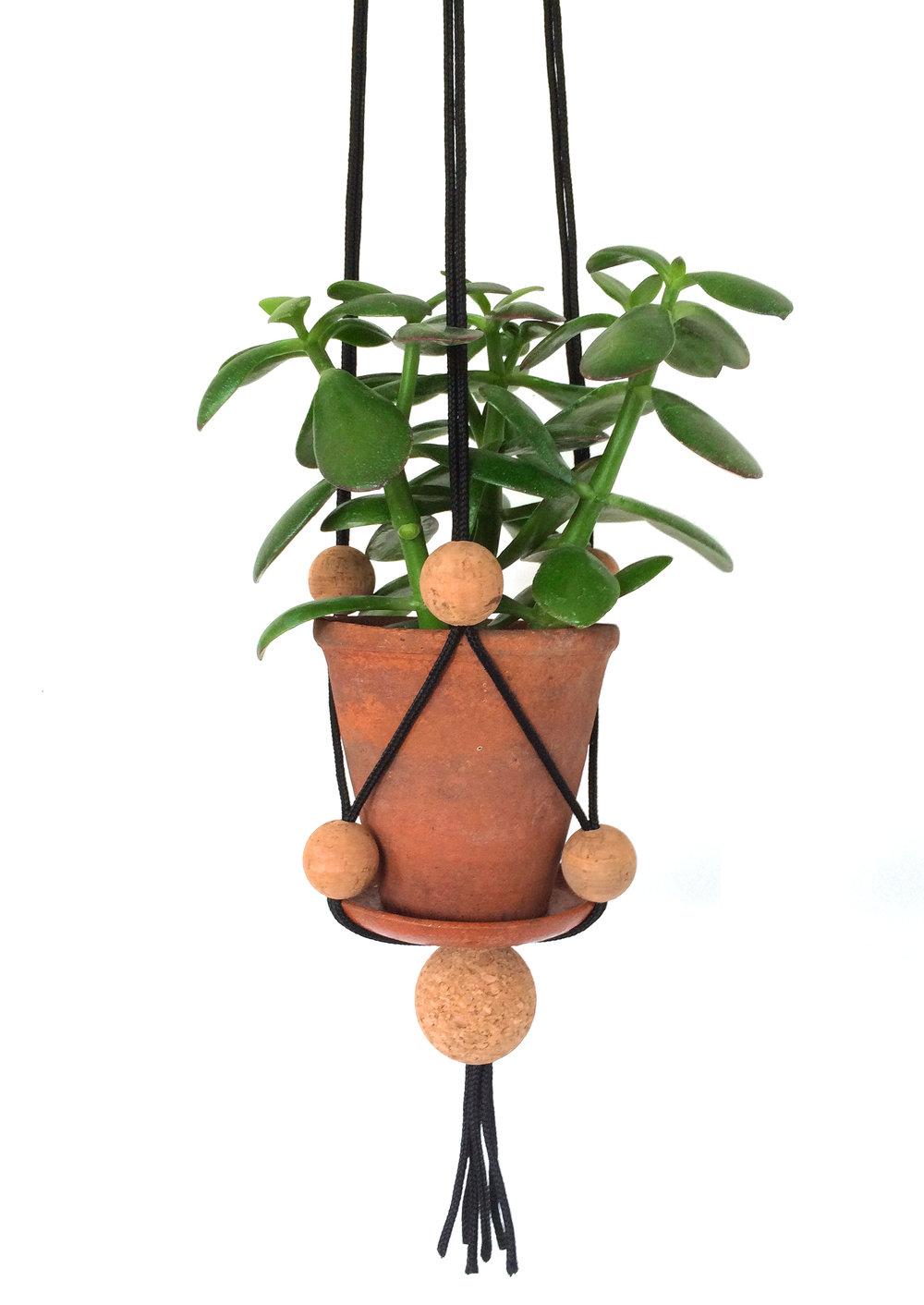 KORK Plant Hanger, Black