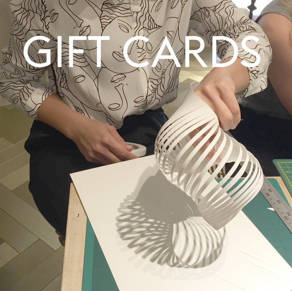 Buy a gift card, £25/£75