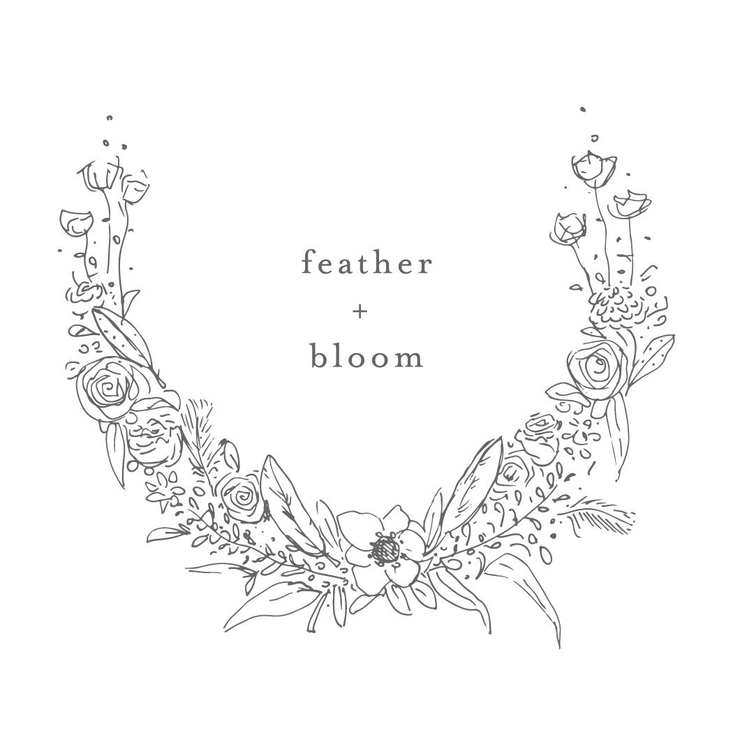 feather + bloom