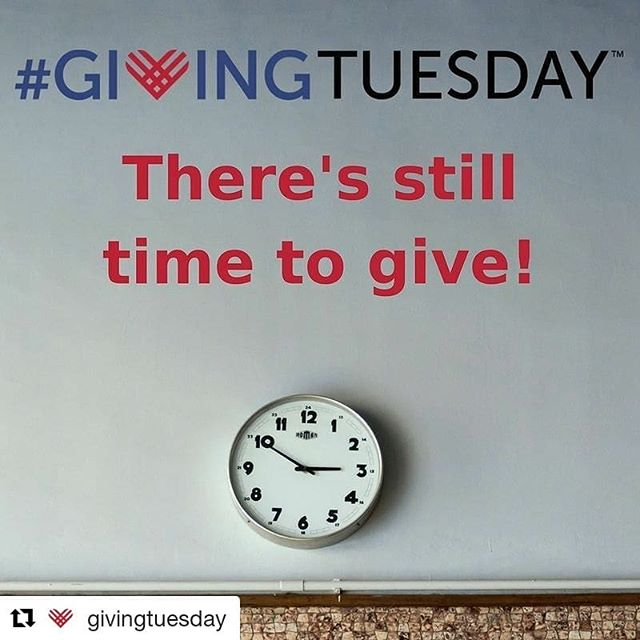 #Repost @givingtuesday (@get_repost) ・・・ If you are still looking to give back today, there's still plenty of time to have an impact!  Donate to your favorite nonprofit or sign up to volunteer after #GivingTuesday.  You can also give #probono, donate canned goods or clothing, or give blood.  There's so many ways to give back - today is the perfect day to reach out to organizations in your community to see how you can help!