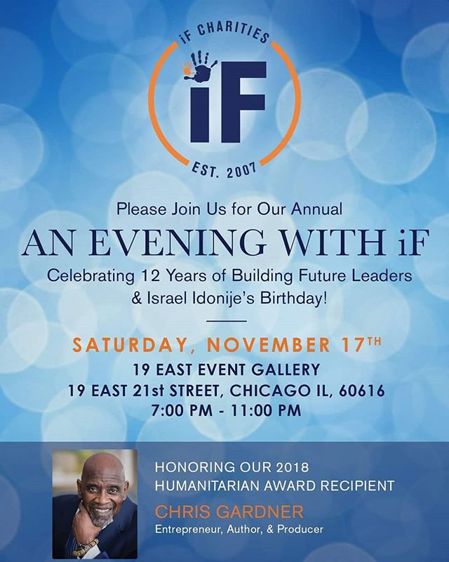 Buy your tickets TODAY!!!! #believe #achieve #succeed https://ifcharities.org/evening-with-if