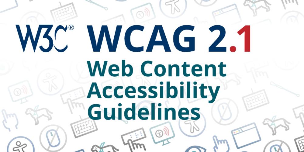 W3C Web Accessibility Initiative (WAI)