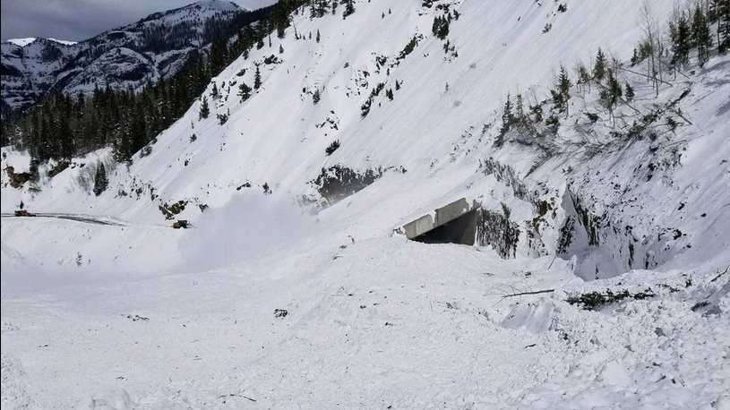 Hwy 550 Snow Shed. Photo: Colorado Department of Transportation