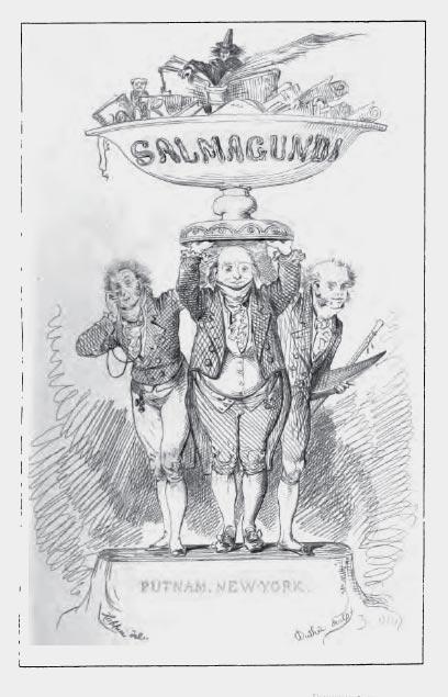 Salmagundi - From an 1869 reprint