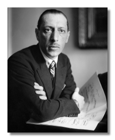 Igor Stravinsky, 1923