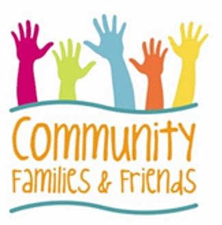 UNITY HOODIE BLACK — Community Families & Friends