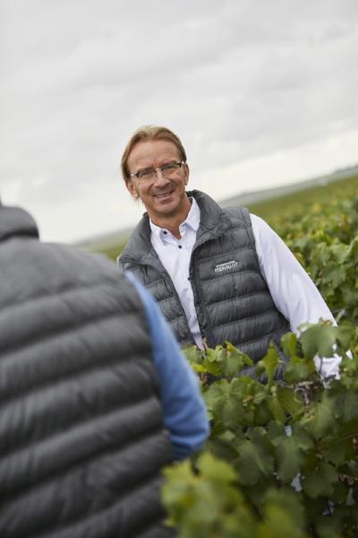 Champagne Henriot Chef de Cave Laurent Fresnet