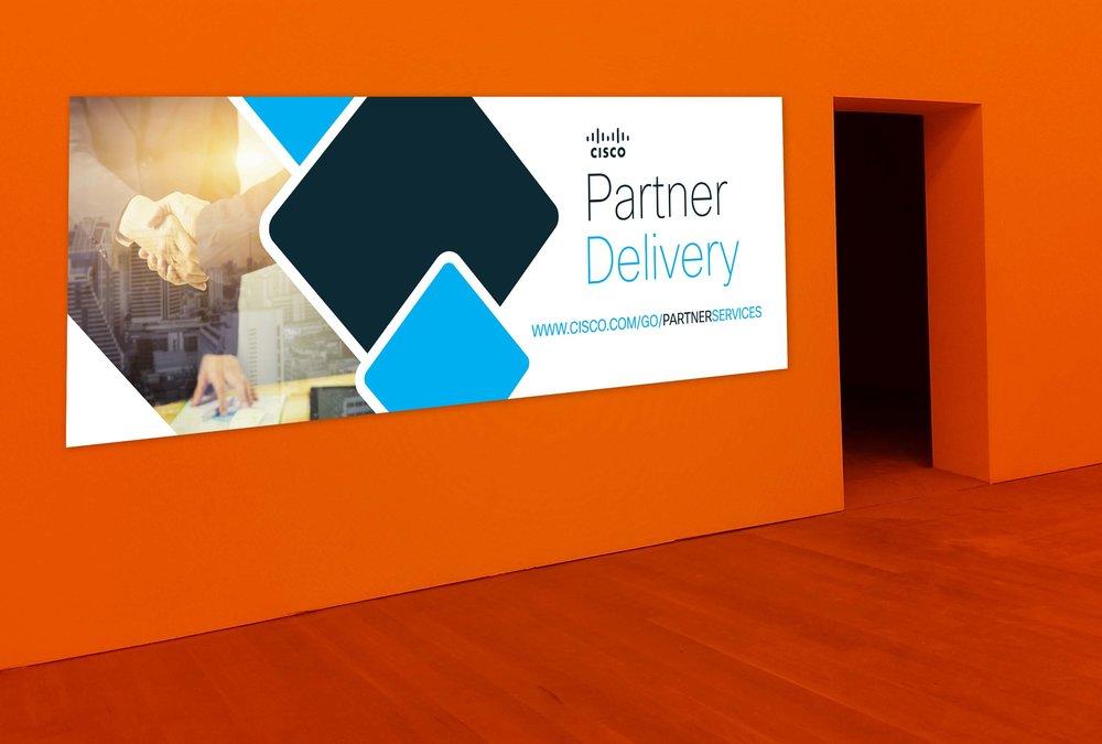 Partner Delivery Print Banner