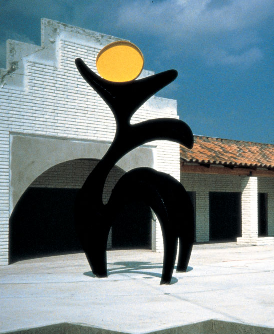 Liberty  1986, painted steel, 19 ft  University Plaza Davies, Florida