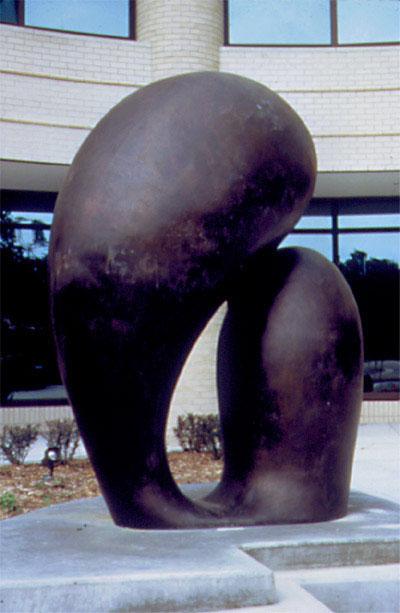 Love II 1987, bronze, 7x5x3 ft The Renaissance II Center College Blvd and Metcalf Overland Park, KS