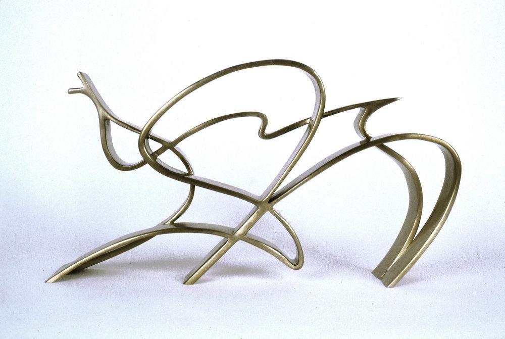 Iceland Surge  1995, bronze, 13x24x4 in