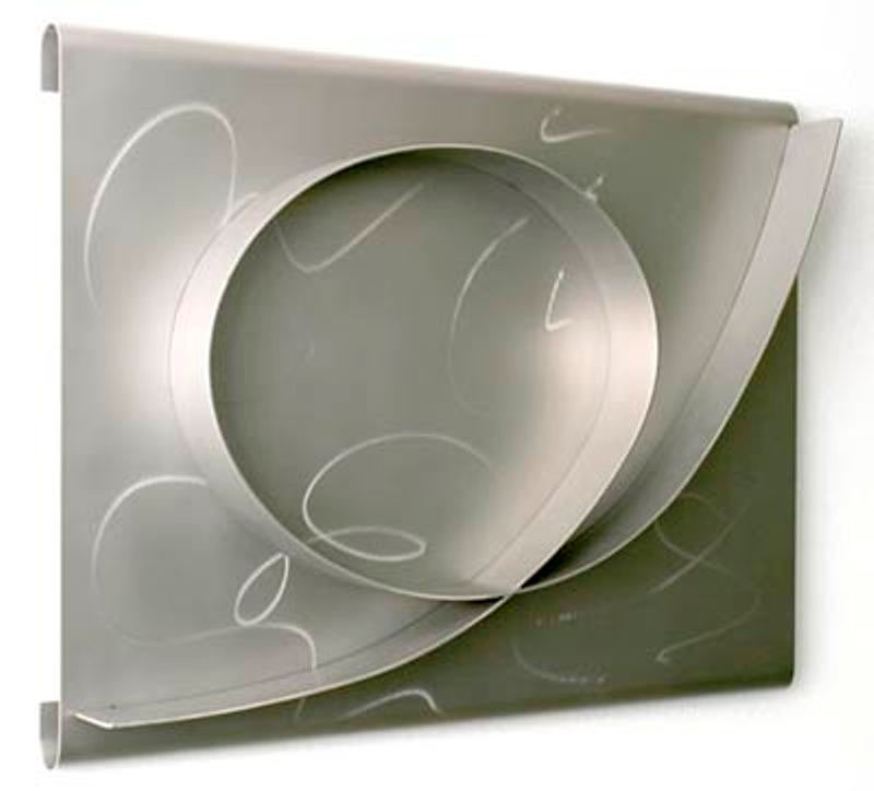 Celebration 2003, stainless steel, 20x26x1.5 in