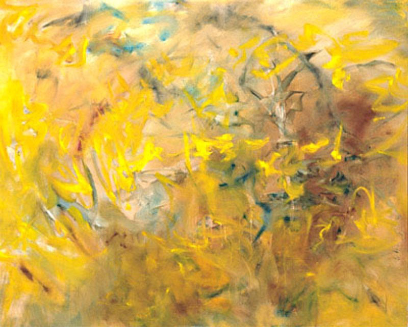 Bach Suite C 1995, oil on canvas, 62x50 in
