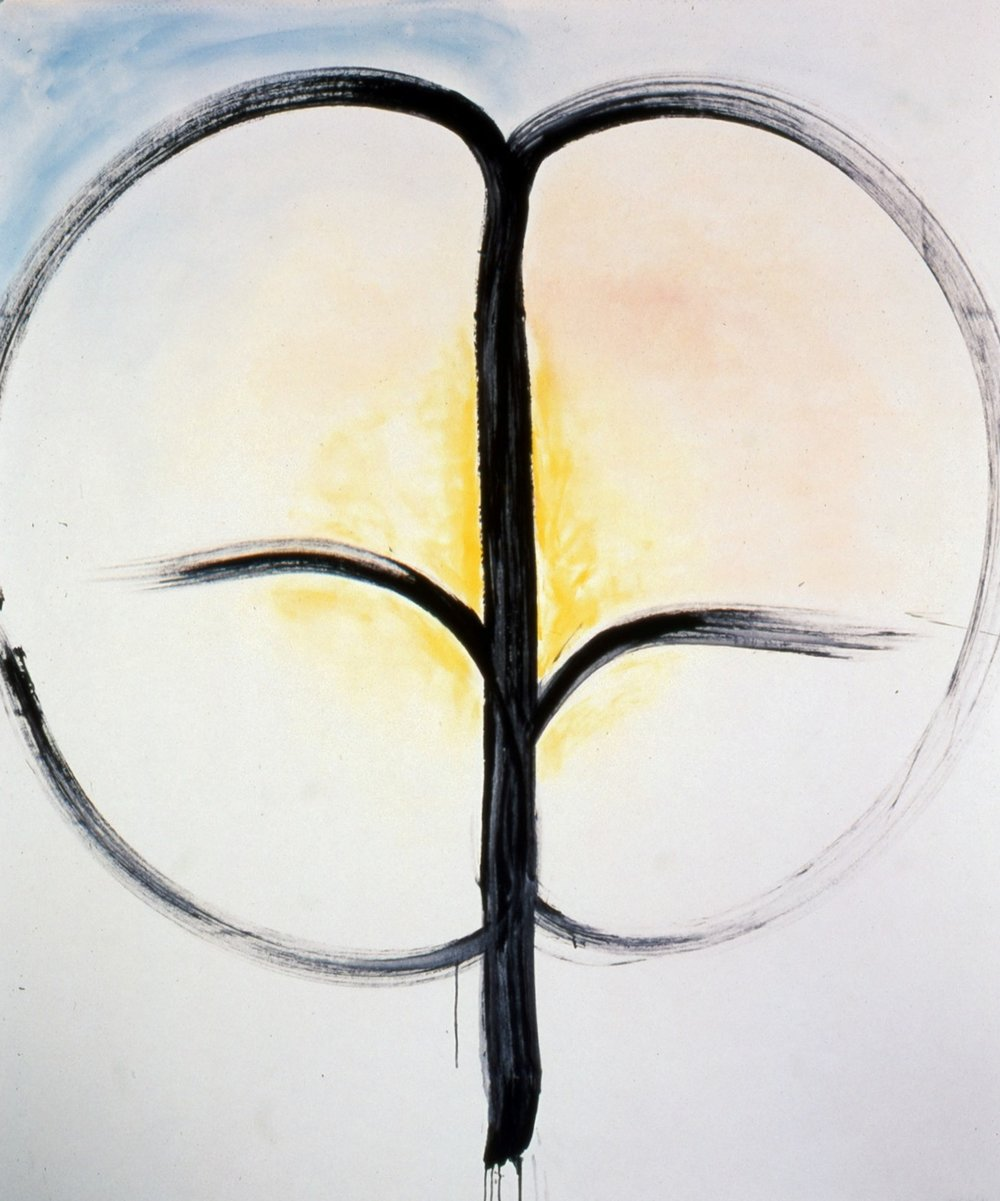 Hope  1996, acrylic/oil on canvas, 72x60 in