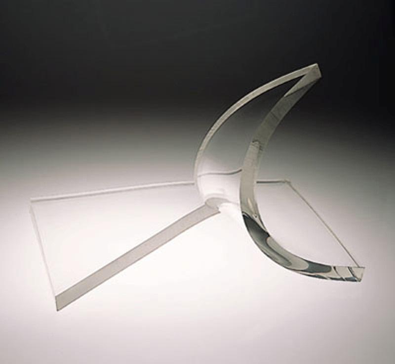 Splash of Light  1976, acrylic sheet, 16x24x18 in