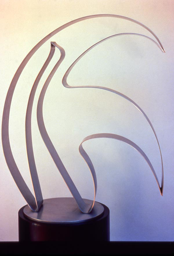 Fantasy 1989, stainless steel, 36x29x5 in