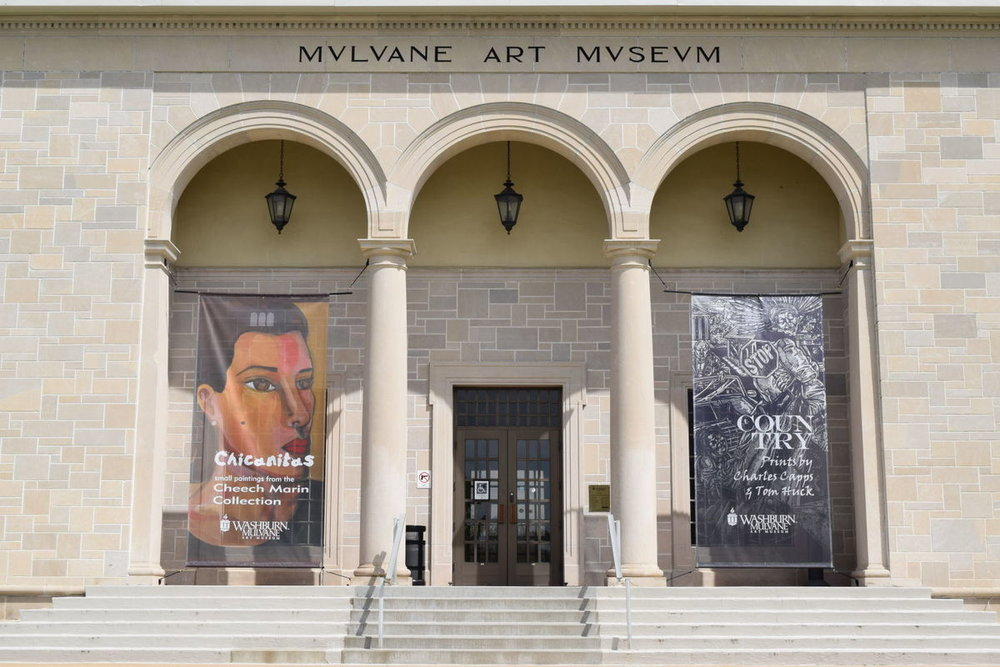 Mulvane Art Museum at Washburn University in Topeka, Kansas.