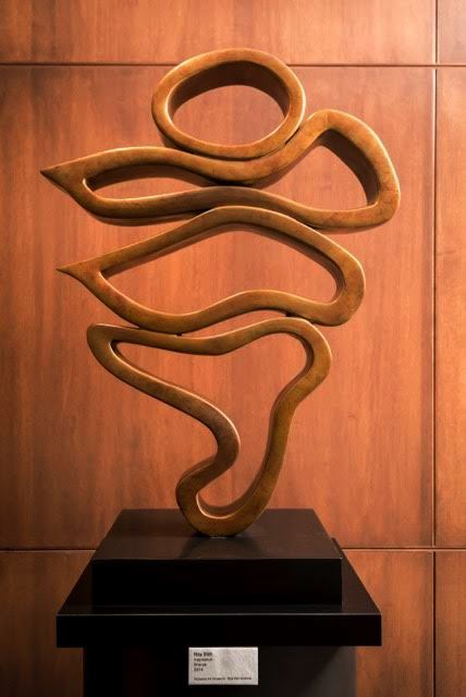 Inspiration  2015, bronze, 36 inches Pictured at Washburn University