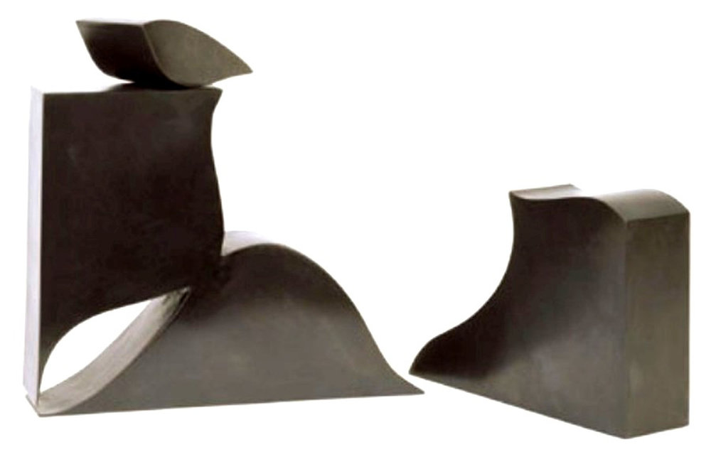 Black Box VI Aspects of Nature I  1990, bronze, 11x14x3 in