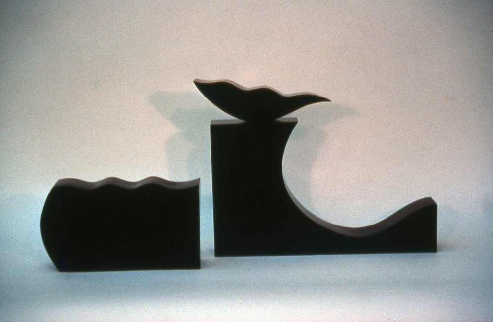 Black Box VII, Aspects of Nature II  1990, bronze, 11x18x3 in