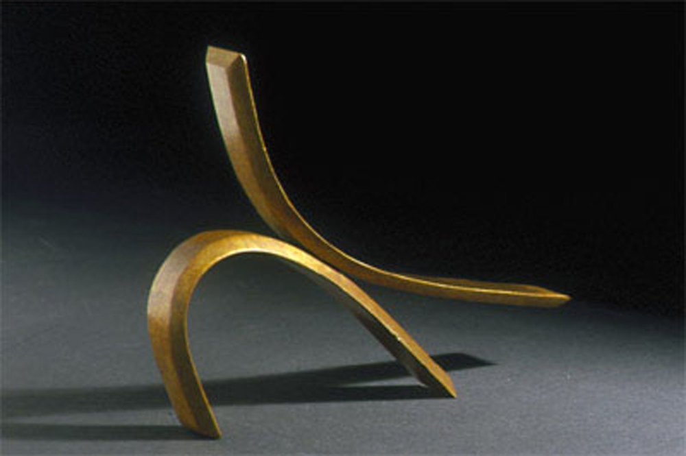 Passionate Gesture IV  2000, bronze, 9.5x7.5x1.5 in