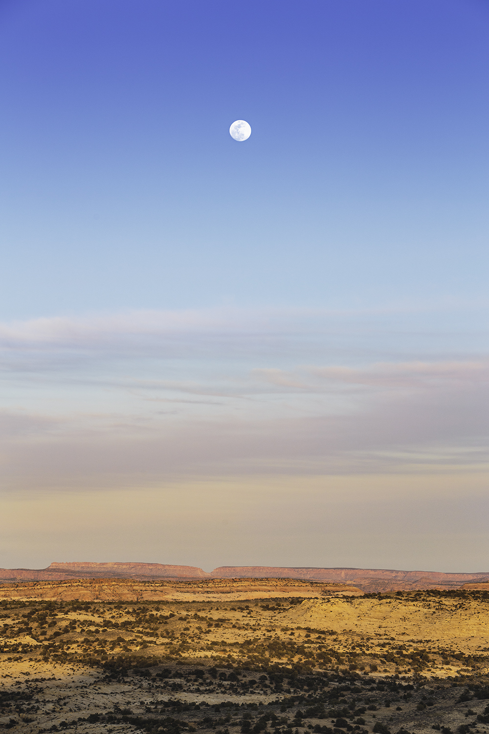 Moon Over The Escalante