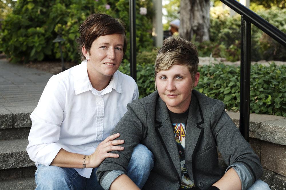 Sarah and Miranda