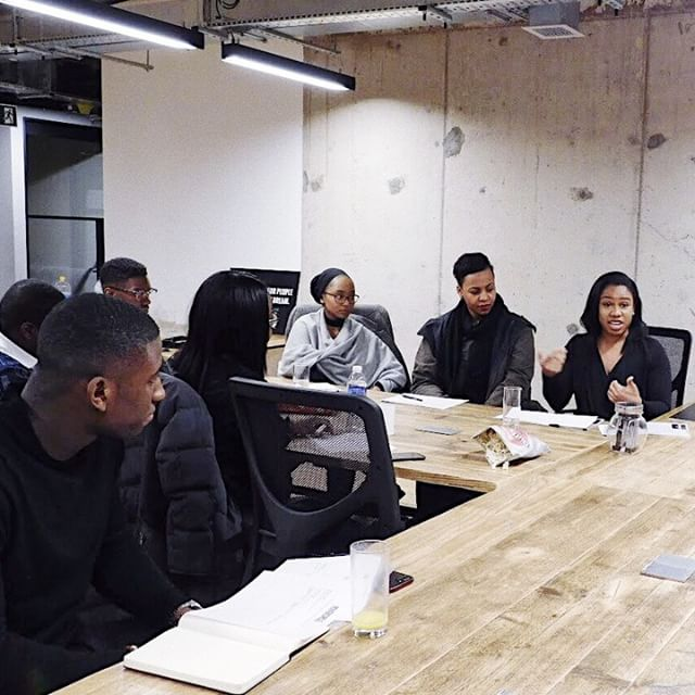 @similola dropping gems on what it's like to transform the face of the tech industry. @wittycareers  #powercircle #personaldevelopment #community #wavemakerslive #shapingthefuture #motivation #excellence