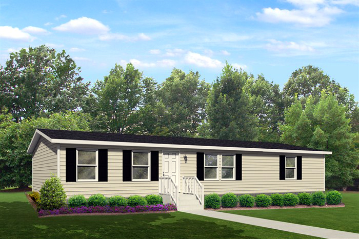 The Enterprise - 3 Bedroom / 2 Bath1385 Square Feet