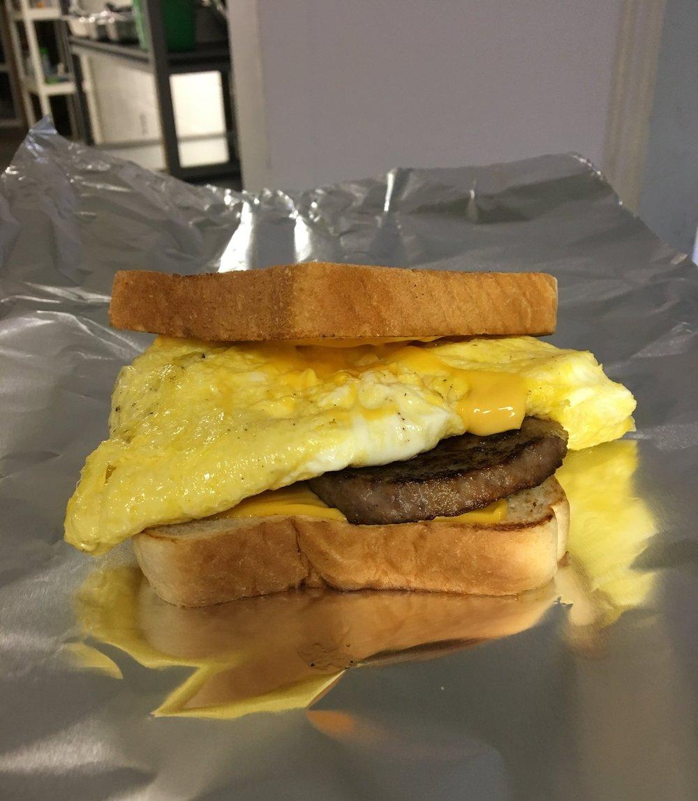 Sausage egg.JPG