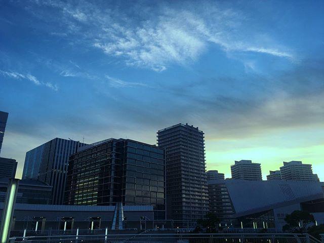 #横浜 #夕焼け