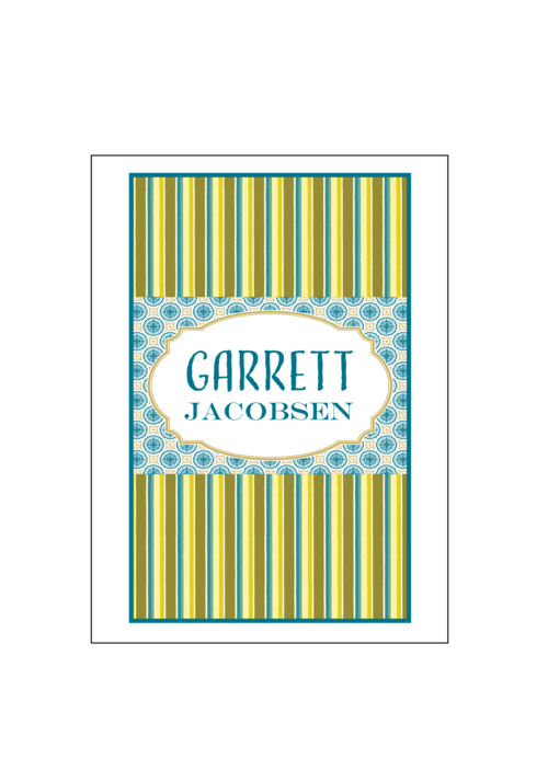 personalized stationery sets social butterfly designs