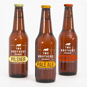 TWO BROTHERS BREWERY BRANDING