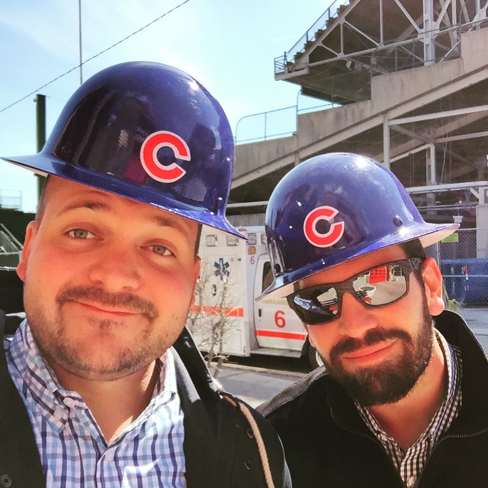 Banner Founders in Hard Hats