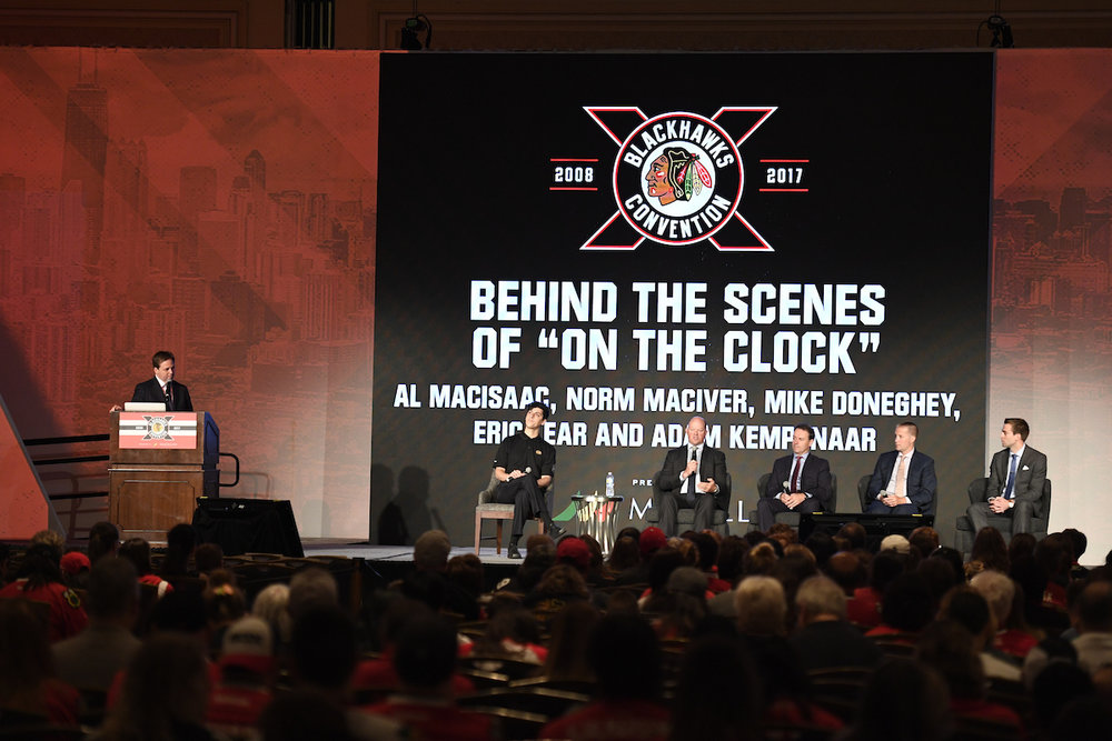 On the Clock Blackhawks Convention