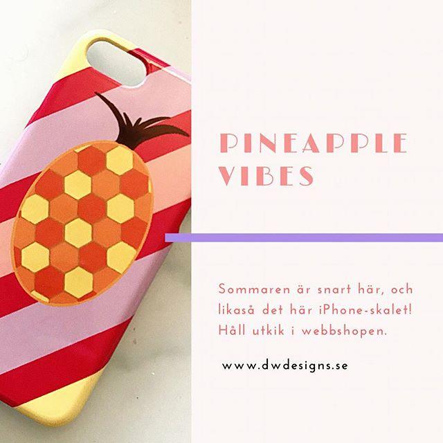 Design nr 2, det går framåt minsann!! 🍍✨ #dwdesignsse #mobilskal #iphoneskal #iphone7 #pineapplevibes #colorful #positivity #summer #art #designbydwdesigns #entrepreneur