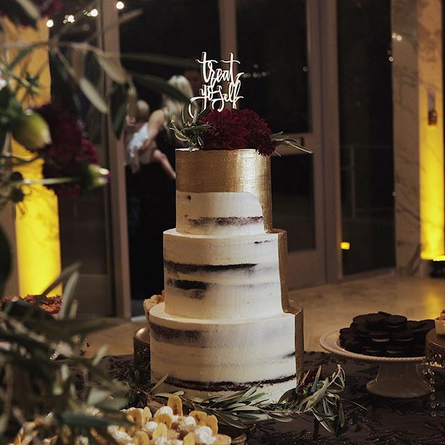 Treat Yo'Self #cake #weddingcake