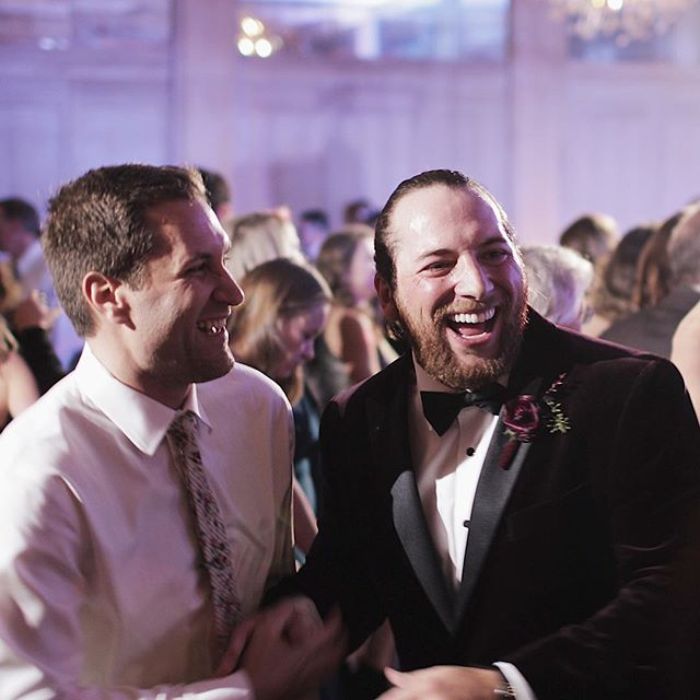 This is the face of a Groom who is thoroughly enjoying his reception #partyon #weddinginspo #wedding #weddinggoals #groom